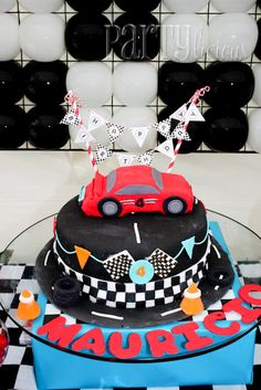 A Blissful Nest Partylicious Racecar Pary 4 {BN Black Book of Parties} Racecar Party