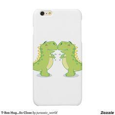 T-Rex Hug...So Close Matte iPhone 6 Plus Case