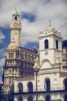 Cabildo de Buenos Aires, escenario de la Revolución de Mayo de 1810 - #Argentina