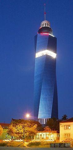 Sarajevo Twist Tower, The Avaz Twist Tower is the headquarters of the newspaper Dnevni avaz