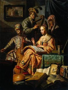 Musical Allegory - Rembrandt