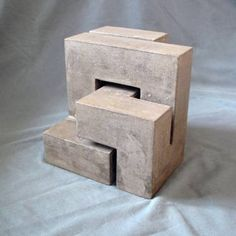 """Saatchi Art Artist Benoist Van Borren; Sculpture, """"Moebius cube"""" #art"""