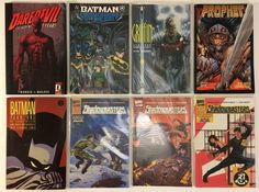 Daredevil, Batman, Shadowmasters, Prophet, The Griffin Graphic Novel / TPB Comic Books Lot of 8