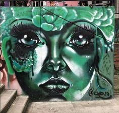 Fotografie Street Wall Art, Urban Street Art, Murals Street Art, Graffiti Murals, Urban Art, Guache, Arte Popular, City Style, Art Forms