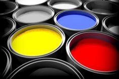 Blue colors design multicolor oil- Image 1920x1200
