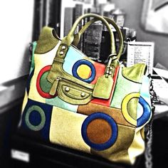 Love the colors of my new bag