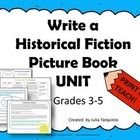 a historical fiction unit outlining Unit of study: historical fiction (p 1) connect: connect to the genre - list historical fiction texts they've read teaching point: when writers read books they make lists about what they notice about the genre the buffalo storm whole class: chart turn & talk prompt: talk to the person next to you about.