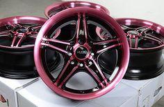"15"" Wheels Rims 4x100 4x114.3 Accord Civic Integra Cooper Miata Scion xA xB Echo"