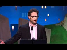 Oh Seth Rogen was great! Warning strong language. He has a potty mouth :)