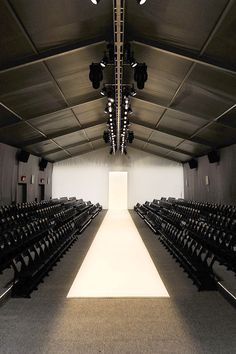 There are certainly still many notable designers whose models will walk the runways at Lincoln Center, but with the opening of Spring Studios and the many who have jumped on board the new locale, one thing is clear—fashion's rep for consistent change is going un-contested.   - HarpersBAZAAR.com