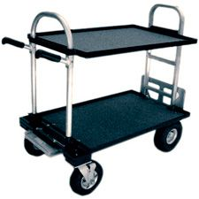 Magliner Junior Cart with 8in wheels and shelves  Weighs 55 lbs  $926 !