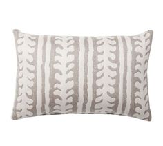 Sunbrella® Saratoga Indoor/Outdoor Pillow | Pottery Barn - TWO OF THESE...for the chairs to pick up color of the tree base