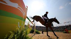 Der deutsche Reiter Michael Jung © dpa - Bildfunk Fotograf: Friso Gentsch