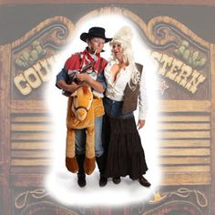 Dolly and Cowboy Billy singing great Country songs!