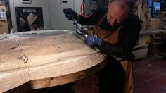 Habito New Works - Behind the scenes. #wood #furniture #woodworking