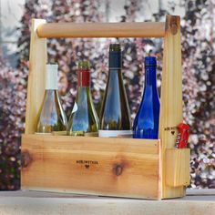 Wine Tote, $29, Wine Tote   by Meriwether of Montana    $29fab  $35 retail price