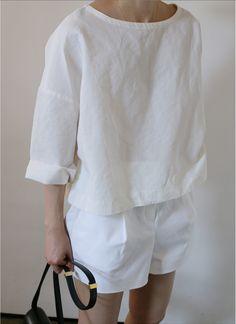 Inspiration: linen Liesl + Co Bento Tee