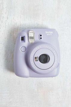 Slide View: 1: Fujifilm Instax Mini 9 Lavender Instant Camera