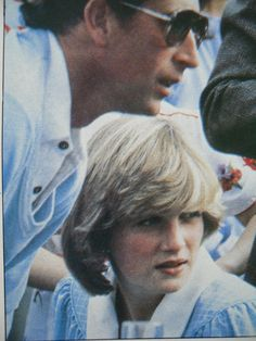 Prince Charles & Princess Diana, early on in their marriage