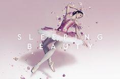 The Look: The Australian Ballet - The Sleeping Beauty Baby Ballet, Ballet Kids, Ballet Dance, Brochure Inspiration, Graphic Design Inspiration, Ballet Pictures, Dance Pictures, Ballerina Photography, Sleeping Beauty Ballet