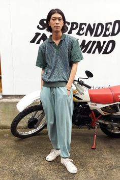 a_1500_takahashi_IMG_0730 Jojo Fashion, Male Fashion, Trendy Fashion, Men's Style, Hair Style, Soy Milk, A Good Man, Streetwear Fashion, I Dress