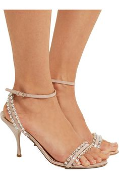 Heel measures approximately 85mm/ 3.5 inches Blush patent-leather Buckle-fastening ankle strap Made in Italy