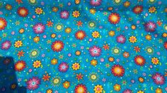 floral jersey fabric by SewFabricious on Etsy