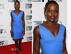 Lupita Nyong'o -  Beautiful in blue