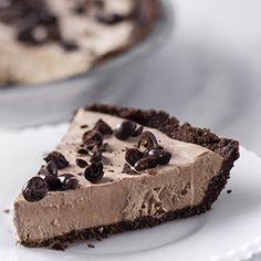 Mocha Ice Cream Pie and other variations. (Skinny pies)