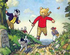 Rupert Bear and Snuffy