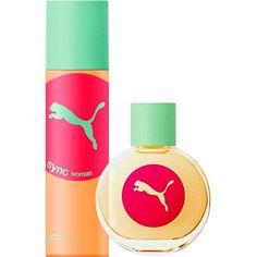 Perfume Puma Sync For Woman Feminino Eau de Toilette 40ml + Desodorante 150ml - Loja Virtul Cabanascuba
