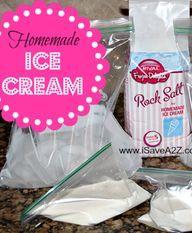 Homemade Ice Cream i