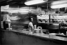 Robert Frank, Coffee Shop, railway station, Indianapolis, From The Americans
