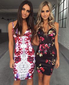 WOW! Two amazing new exclusive Tiger Mist printed dresses just landed  what's your fav? left or right?   1-2 AUS & NZ  WORLDWIDE SHIPPING ALSO AVAILABLE