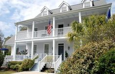 Own my own Historical home in a southern town (Georgetown, SC). This one is actually for sale.  It is a 1740 Bed & Breakfast.