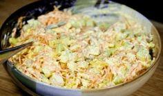 Domáci vlašský šalát. Keď ho vyskúšate, ten zo supermarketu si už nikdy nekúpite! - Báječná vareška Tasty, Yummy Food, Fried Rice, Bon Appetit, Guacamole, Salad Recipes, Potato Salad, Macaroni And Cheese, Chicken Recipes