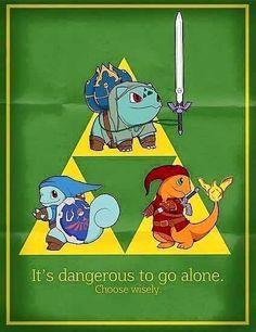 Triforce of Starter Pokemon