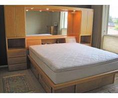 custom headboard on pinterest headboards king bed frame. Black Bedroom Furniture Sets. Home Design Ideas