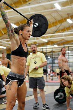 Christmas Abbott: Finding Her Purpose with CrossFit. She is all about reshaping. Inspiring.