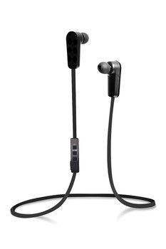 Jarv NMotion Built-In Microphone Sport Wireless Black Bluetooth Stereo Earbuds/Headphones