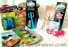 Destination: Craft: Toddler Travel Bags