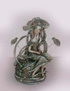 Zueva Anna -Hat of fish scales (2008)