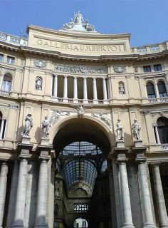 Neapel, Galerie Umberto I