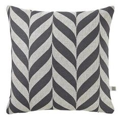 Housse de coussin Amare 45x45 cm anthracite DUTCH DECOR