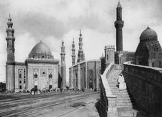 The Mosques of Sultan Hassan and El Rufai, Cairo, Egypt by Anonymous