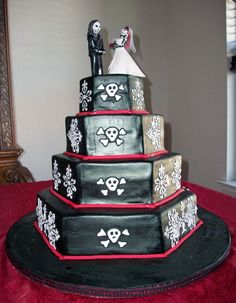 halloween wedding cakes halloween wedding cake - Halloween Wedding Cakes Pictures