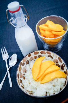 Sticky Reis mit Mango