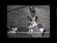 WW2 First Aid Techniques