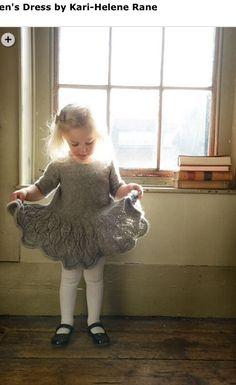 Maddie-kids-dress-purl_alpaca_designs_knitting_pattern - Knitting Projects for Kids Knitting For Kids, Baby Knitting Patterns, Crochet For Kids, Baby Patterns, Free Knitting, Knitting Projects, Knit Crochet, Knitting Wool, Knitting Needles