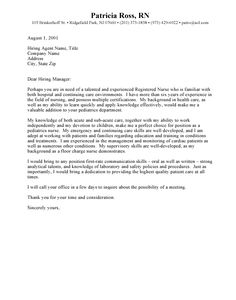 Sample Of Cover Letter For Resume | Sample Email Cover Letter